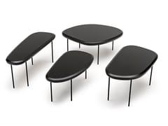 Tavolino basso da caffè in legnoPEBBLE LOW TABLE | Tavolino in legno - LIVING DIVANI