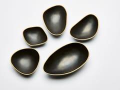 Svuotatasche in bronzo patinato PEBBLES -