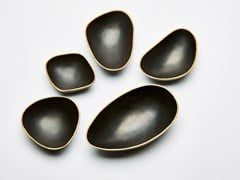 Svuotatasche in bronzo patinatoPEBBLES - REDA AMALOU DESIGN
