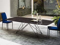 Tavolo rettangolare in ceramica PEGASO | Tavolo in ceramica - Pegaso
