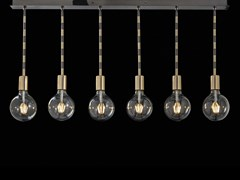Lampada a sospensione a LED in ottoneLOLITA | Lampada a sospensione - AIARDINI ILLUMINAZIONE