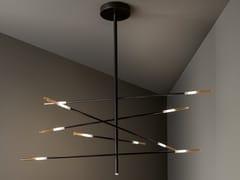 Lampada a sospensione in metallo verniciatoCROSSROAD | Lampada a sospensione - BONALDO