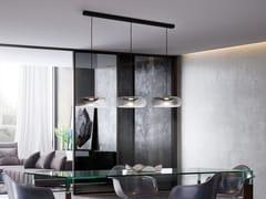 Lampada a sospensione a LED in vetroFOLD | Lampada a sospensione - CANGINI & TUCCI