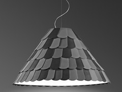 Lampada a sospensione in plastica ROOFER | Lampada a sospensione - Roofer