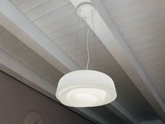 Lampada a sospensione a LED in polietileneROSE_P - LINEA LIGHT GROUP