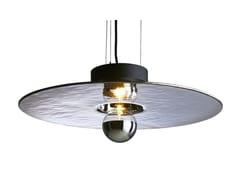 Lampada a sospensione fatta a mano in vetro termoformatoMIRAGE | Lampada a sospensione - RADAR INTERIOR