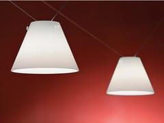 Lampada a sospensione a LED fatta a mano in vetro soffiatoPENDILLA - ALBUM ITALIA