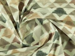 Tessuto lavabile stampato in cotone con motivi graficiPENTAGON - MORE FABRICS