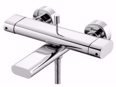 Miscelatore per vasca a 2 fori a muro in ottone cromato PERFECTO | Miscelatore per vasca - Perfecto
