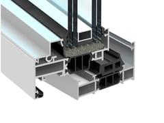 PROFILATI, EKU PERFEKTION HPS Finestra minimale in alluminio a taglio termico
