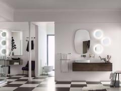 Sistema bagno componibilePERFETTO - Composizione 1 - INDA®