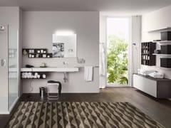 Sistema bagno componibilePERFETTO+ - Composizione 2 - INDA®