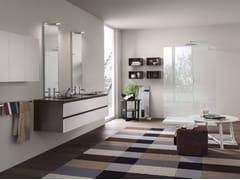 Sistema bagno componibilePERFETTO - Composizione 3 - INDA®