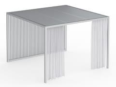 Pergolato autoportante in alluminio anodizzatoPERGOLAS MODULO 1 360x360 - GANDIA BLASCO