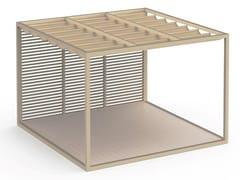 Pergolato autoportante in alluminio termolaccatoPERGOLAS MODULO 1 PAVIMENTO 360x360 - GANDIA BLASCO