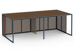 Pergolato autoportante in alluminio termolaccatoPERGOLAS MODULO 2 360x712 - GANDIA BLASCO