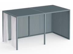 Pergolato autoportante in alluminio termolaccatoPERGOLAS MODULO 2 246x484 - GANDIA BLASCO