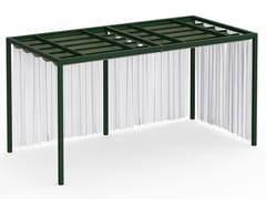 Pergolato autoportante in alluminio termolaccatoPERGOLAS MODULO 6 246x484 - GANDIA BLASCO