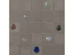 Mosaico in vetroPERLE | Fango mix 30 - NEROSICILIA GROUP