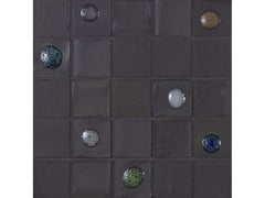 Mosaico in vetroPERLE | Grafite mix 30 - NEROSICILIA GROUP