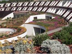 Giardini pensili con erbacee perenni a piccolo sviluppoPERLIROOF con erbacee perenni - PERLITE ITALIANA