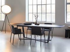 Tavolo da pranzo rettangolare in legno massello PERO | Tavolo da pranzo - Pero