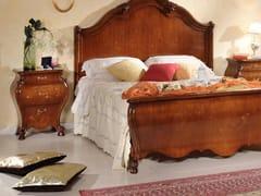 Comodino in legno massello con cassettiPERSIA | Comodino in legno massello - ARVESTYLE