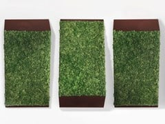 GREEN MOOD, PERSPECTIVE LINES Pannello decorativo acustico
