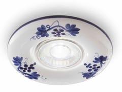 Faretto rotondo in ceramica da incassoPESCARA | Faretto rotondo - FERROLUCE