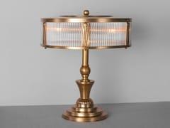 Lampada da tavolo a luce diretta fatta a mano in ottone PETITOT IX | Lampada da tavolo - Petitot