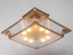Lampada da soffitto a luce diretta fatta a mano in ottone PETITOT V | Lampada da soffitto - Petitot