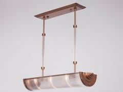 Lampada a sospensione a luce diretta fatta a mano in ottone PETITOT V | Lampada a sospensione - Petitot