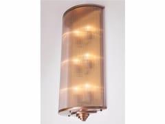 Applique a luce diretta fatta a mano in ottone PETITOT VI | Applique - Petitot