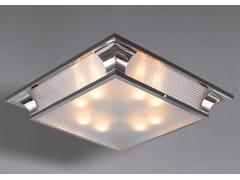Lampada da soffitto a luce diretta fatta a mano in nichel PETITOT VII | Lampada da soffitto - Petitot