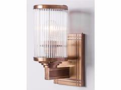 Lampada da parete a luce diretta fatta a mano in ottone PETITOT VII | Lampada da parete - Petitot
