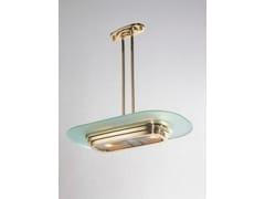 Lampada a sospensione a luce diretta fatta a mano in ottone PETITOT VIII | Lampada a sospensione - Petitot