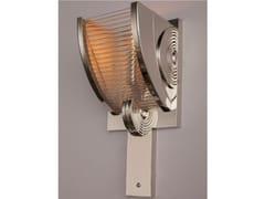 Applique a luce diretta fatta a mano in nichel PETITOT XIV | Applique in nichel - Petitot