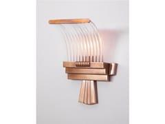 Applique a luce diretta fatta a mano in ottone PETITOT XV | Applique in ottone - Petitot