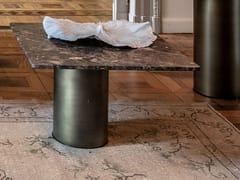Tavolino quadrato in marmo PETRA | Tavolino quadrato -