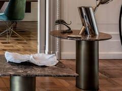 Tavolino rotondo in marmo PETRA | Tavolino rotondo -