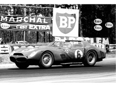 Stampa fotograficaPHIL HILL A LE MANS IN 1962 - ARTPHOTOLIMITED