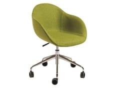 Sedia ufficio ad altezza regolabile in tessuto a 5 razzePHILADELPHIA | Sedia ufficio - AP FACTOR