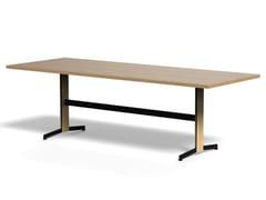 Tavolo rettangolare in legno impiallacciatoPIANA WOOD XL - ARRMET