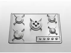 Piano cottura da incasso in acciaio inoxPiano cottura da incasso - ALPES-INOX