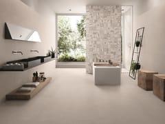 Pavimento/rivestimento in gres porcellanato effetto pietra PIASE PIANO SEGA ARGENTO - Piase