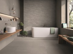 Pavimento/rivestimento in gres porcellanato effetto pietra PIASE PIANO SEGA SABBIA - Piase