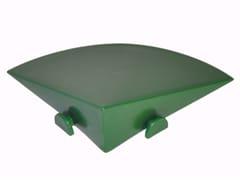 Cordolo d'angolo in plastica PIASTRELLA | Cordolo -