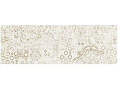 Rivestimento in ceramica a pasta biancaPICCADILLY | Inserto ricamo avorio - ARMONIE CERAMICHE