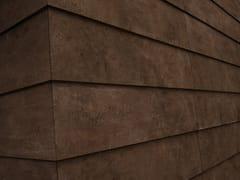Arklam, PIER 17 COPPER Pavimento/rivestimento in ceramica sinterizzata effetto metallo per interni ed esterni
