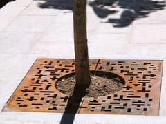 URBIDERMIS, PIET MONDRIAN Griglia per alberi in ghisa